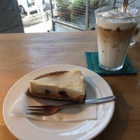 Photo taken at La cour cafe by Narumi N. on 6/17/2017