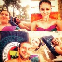 Photo taken at Kolaylı Beach by Halise C. on 8/15/2015