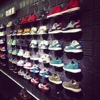 Photo taken at Niketown Chicago by Chika J. on 2/16/2013
