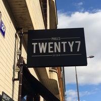 Photo taken at Phill's Twenty7 by Micha C. on 2/22/2016