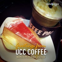 Photo taken at UCC Coffee by Kai R. on 5/3/2013