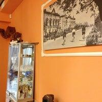 "Photo taken at Кафе ""Моє місто"" by Валентин М. on 8/1/2013"