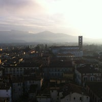 Photo taken at Torre Guinigi by Giulia L. on 1/11/2013