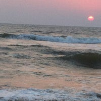 Photo taken at Anjuna Beach by Irina T. on 2/22/2013