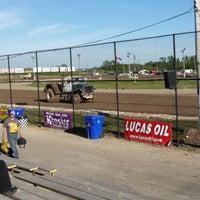 Photo taken at Merritville Speedway by Chelsy H. on 5/31/2014