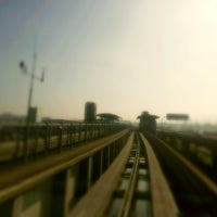 Photo taken at SFO AirTrain by Rafael S. on 11/26/2012