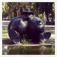Photo taken at Jardim do Campo Grande by Filipe G. on 8/26/2013