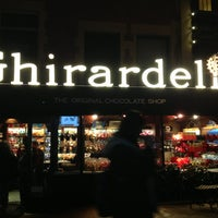 Photo taken at Ghirardelli Square by Emerson C. on 1/21/2013