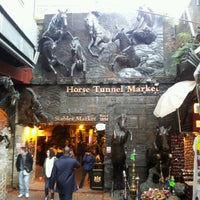 Photo taken at Camden Stables Market by Roman G. on 10/17/2012