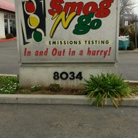 Photo taken at Smog 'N Go by Nella P. on 2/18/2014