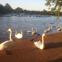 Photo taken at Hyde Park by Shaikha A. on 7/21/2013