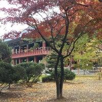 Photo taken at Bosingak by 육철민 T. on 11/12/2012