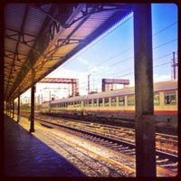 Photo taken at Verona Porta Nuova Railway Station by Miriam F. on 5/27/2013