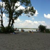 Photo taken at Пляж 6 мкр by Sasha M. on 7/6/2013