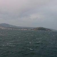 Photo taken at Erdek Açıkları by Alesta 4. on 4/6/2014