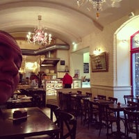 Photo taken at La Gare Brasserie & Le WINstub by Kate Z. on 1/4/2013