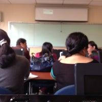 Photo taken at Facultad de Ciencias Administrativas by Emilio Y. on 3/8/2013