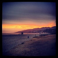 Photo taken at Will Rogers State Beach by Will C. on 7/11/2013