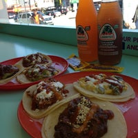 Photo taken at La Taqueria Pinche Taco Shop by Lisa D. on 5/7/2013