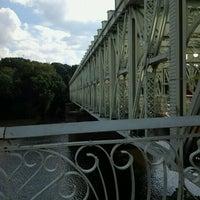Photo taken at Falls Bridge by Philadeldog on 8/12/2012