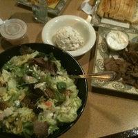 Photo taken at Greek City Cafe by Stephanie F. on 11/18/2011