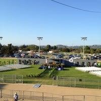 Photo taken at Tustin High School Football Stadium by Tina W. on 6/15/2012