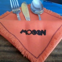 Photo taken at Mooon Cafe by Mai D. on 6/25/2012