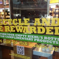 Photo taken at Kiehl's Since 1851 by Adrian F. on 4/18/2012
