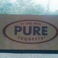 Photo taken at Pure Taqueria by Pretty K. on 7/17/2012