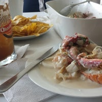 Photo taken at Majo Ceviches by Polet P. on 1/30/2016