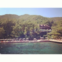 Photo taken at Marmaris Park Beach by Artem L. on 7/25/2013