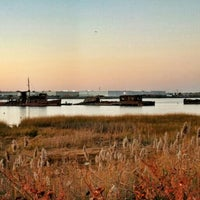 Photo taken at Staten Island Tugboat Graveyard by Graham A. on 11/8/2015