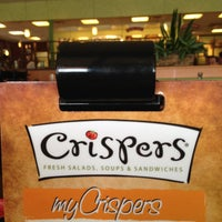 Photo taken at Crispers Fresh Salads, Soups and Sandwiches by Greg J. on 5/11/2013