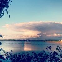 Photo taken at Берег Волги by NeБлондинка on 9/15/2013