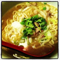 Photo taken at Legendary Noodle by Junnn on 2/13/2013