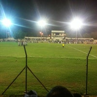 Photo taken at Rusayl Football Ground by Feras I. on 8/6/2013