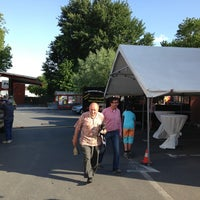 Photo taken at Parking Proxy Delhaize by Arne V. on 6/25/2013