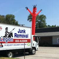 Photo taken at Veteran Owned, A1 Junk Removal by Scott H. on 1/13/2018