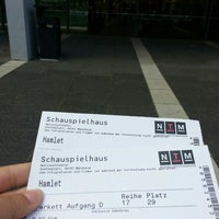 Photo taken at Nationaltheater Mannheim by Betul Sena Y. on 7/4/2016