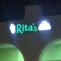 Photo taken at Rita's by Jacquel M. on 4/5/2013