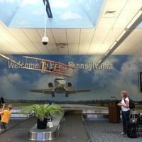 Photo taken at Erie International Airport (ERI) by GL R. on 7/25/2013