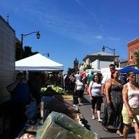 Photo taken at Milton Farmer's Market by Rob H. on 7/13/2013