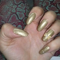 Photo taken at Queen's Beauty Nail by Nany I. on 8/9/2013