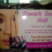 Photo taken at Queen's Beauty Nail by Nany I. on 3/8/2013