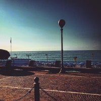 Photo taken at Celle Lido Beach Club by Stefano P. on 8/29/2015