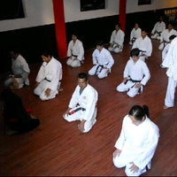 Photo taken at Bujutsukan Ryu Fight Club. Dojo De La Cruz. Karate Judo Mma. by Rod C. on 1/11/2013