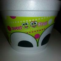 Photo taken at Sweet Frog Premium Frozen Yogurt by Angel on 4/3/2014