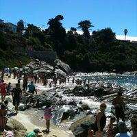 Photo taken at Playa Las Conchitas by Odi6 H. on 2/16/2013