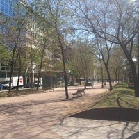 Photo taken at Avinguda de Josep Tarradellas by Евгений Ф. on 4/21/2013
