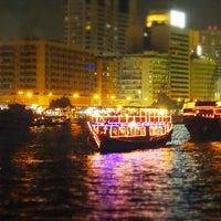 Photo taken at Dubai Creek by Caroline B. on 2/26/2013